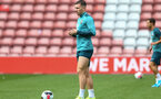 Pierre-Emile Hojbjerg during 1st Team training session at St Marys Stadium, Southampton, 12th September 2019 (pic by Isabelle Field)