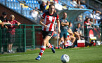 Ella Morris during the FA Women's National League, Div One South West match between Southampton FC Women and Buckland, at the Testwood Community Stadium, AFC Totton, Southampton, 15th September 2019(pic by Isabelle Field)