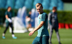 SOUTHAMPTON, ENGLAND - SEPTEMBER 17: James Ward-Prowse during a Southampton FC training session at the Staplewood Campus on September 17, 2019 in Southampton, England. (Photo by Matt Watson/Southampton FC via Getty Images)