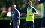 SOUTHAMPTON, ENGLAND - SEPTEMBER 17: Danny Ings during a Southampton FC training session at the Staplewood Campus on September 17, 2019 in Southampton, England. (Photo by Matt Watson/Southampton FC via Getty Images)