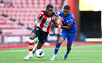Kayne Ramsay during Premier League 2 match between Southampton FC U23 and Chelsea, at St Mary's Stadium, Southampton, 21th September 2019 (pic Isabelle Field)