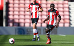Lucas Difise during Premier League 2 match between Southampton FC U23 and Chelsea, at St Mary's Stadium, Southampton, 21th September 2019 (pic Isabelle Field)