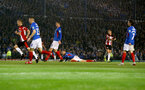 PORTSMOUTH, ENGLAND - SEPTEMBER 24: Danny Ings of Southampton shoots and scores during the Carabao Cup Third Round match between Portsmouth and Southampton at Fratton Park on September 24, 2019 in Portsmouth, England. (Photo by Matt Watson/Southampton FC via Getty Images)