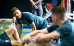 SOUTHAMPTON, ENGLAND - SEPTEMBER 25: Jan Bednarek during a Southampton FC training/recovery session at Staplewood Complex on September 25, 2019 in Southampton, England. (Photo by Matt Watson/Southampton FC via Getty Images)