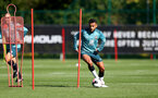 SOUTHAMPTON, UK, OCTOBER 02: Sofiane Boufal during a Southampton FC training session at the Staplewood Campus, Southampton, UK, 2nd October 2019, (pic by Matt Watson/Southampton FC via Getty Images)