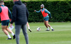 SOUTHAMPTON, ENGLAND - OCTOBER 03: Nathan Redmond during a Southampton FC training session at the Staplewood Campus on October 03, 2019 in Southampton, England. (Photo by Matt Watson/Southampton FC via Getty Images)