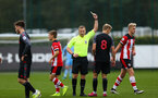 during Premier League Cup between Southampton FC U23 and Stoke City at Staplewood Campus, Southampton 5th October 2019 (pic by Isabelle Field)