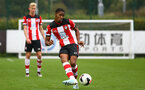 Kayne Ramsay during Premier League Cup between Southampton FC U23 and Stoke City at Staplewood Campus, Southampton 5th October 2019 (pic by Isabelle Field)
