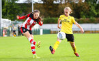 Georgie Freeland during the Woman's FA Cup, first round between Southampton FC Women and Buckland Athletic, at the Testwood Community Stadium, AFC Totton, Southampton, 13th October 2019 (pic by Isabelle Field)