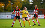 Shannon Sievwright during the Woman's FA Cup, first round between Southampton FC Women and Buckland Athletic, at the Testwood Community Stadium, AFC Totton, Southampton, 13th October 2019 (pic by Isabelle Field)