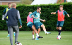 SOUTHAMPTON, ENGLAND - OCTOBER 16: Danny Ings during a Southampton FC training session, at the Staplewood Campus, 16th October 2019 in Southampton, England. (Photo by Matt Watson/Southampton FC via Getty Images)