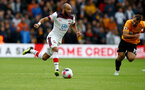 WOLVERHAMPTON, ENGLAND - OCTOBER 19: Nathan Redmond during the Premier League match between Wolverhampton Wanderers and Southampton FC at Molineux on October 19, 2019 in Wolverhampton, United Kingdom. (Photo by Matt Watson/Southampton FC via Getty Images)