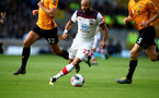 WOLVERHAMPTON, ENGLAND - OCTOBER 19: Nathan Redmond of Southampton during the Premier League match between Wolverhampton Wanderers and Southampton FC at Molineux on October 19, 2019 in Wolverhampton, United Kingdom. (Photo by Matt Watson/Southampton FC via Getty Images)