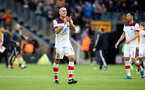 WOLVERHAMPTON, ENGLAND - OCTOBER 19: Oriol Romeu of Southampton during the Premier League match between Wolverhampton Wanderers and Southampton FC at Molineux on October 19, 2019 in Wolverhampton, United Kingdom. (Photo by Matt Watson/Southampton FC via Getty Images)