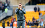 WOLVERHAMPTON, ENGLAND - OCTOBER 19: Ralph Hasenhuttl of Southampton during the Premier League match between Wolverhampton Wanderers and Southampton FC at Molineux on October 19, 2019 in Wolverhampton, United Kingdom. (Photo by Matt Watson/Southampton FC via Getty Images)
