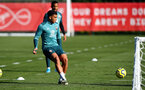 SOUTHAMPTON, ENGLAND - OCTOBER 22: Ché Adams during a Southampton FC training session at the Staplewood Campus on October 22, 2019 in Southampton, England. (Photo by Matt Watson/Southampton FC via Getty Images)