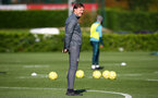 SOUTHAMPTON, ENGLAND - OCTOBER 22: Ralph Hasenhuttl during a Southampton FC training session at the Staplewood Campus on October 22, 2019 in Southampton, England. (Photo by Matt Watson/Southampton FC via Getty Images)