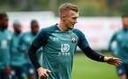 SOUTHAMPTON, ENGLAND - OCTOBER 23: James Ward-Prowse during a Southampton FC training session at the Staplewood Campus on October 23, 2019 in Southampton, England. (Photo by Matt Watson/Southampton FC via Getty Images)