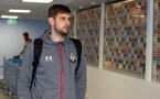 MANCHESTER, ENGLAND - OCTOBER 29:  Jack Stephens of Southampton ahead of the Carabao Cup Round of 16 match between Manchester City and Southampton FC at the Etihad Stadium on October 29, 2019 in Manchester, England. (Photo by Matt Watson/Southampton FC via Getty Images)