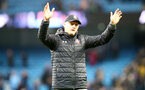 MANCHESTER, ENGLAND - NOVEMBER 02: Ralph Hasenhuttl of during the Premier League match between Manchester City and Southampton FC at Etihad Stadium on November 02, 2019 in Manchester, United Kingdom. (Photo by Matt Watson/Southampton FC via Getty Images)