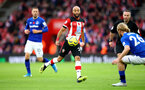 SOUTHAMPTON, ENGLAND - NOVEMBER 09: Nathan Redmond of Southampton during the Premier League match between Southampton FC and Everton FC at St Mary's Stadium on November 09, 2019 in Southampton, United Kingdom. (Photo by Matt Watson/Southampton FC via Getty Images)