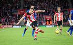 SOUTHAMPTON, ENGLAND - NOVEMBER 09: James Ward-Prowse during the Premier League match between Southampton FC and Leicester City at St Mary's Stadium on November 09, 2019 in Southampton, United Kingdom. (Photo by Chris Moorhouse/Southampton FC via Getty Images)