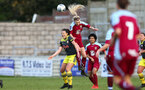 Kirsty Whitton during the Woman's FA Cup between Southampton FC Women and Chesham United at the Chesham United Football Club, Buckinghamshire, 10th November 2019 (pic by Isabelle Field)