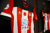 Shirt auction for Poppy Appeal