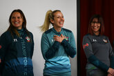 Saints stars inspire young female players