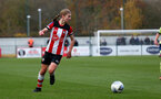 SOUTHAMPTON, ENGLAND - NOVEMBER 17: Shannon Albuery of Southampton during the Womens Hampshire Cup round 2 match between Southampton FC Women and AFC Bournemouth Women, at the Snows stadium AFC Totton, on November 17, 2019 in Southampton, England. (Photo by Matt Watson/Southampton FC via Getty Images)