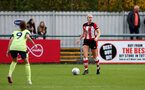 SOUTHAMPTON, ENGLAND - NOVEMBER 17: during Womens Hampshire Cup round 2 match between Southampton FC Women and AFC Bournemouth Women, at the Snows stadium AFC Totton, on November 17, 2019 in Southampton, England. (Photo by Matt Watson/Southampton FC via Getty Images)
