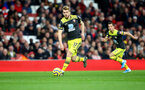 LONDON, ENGLAND - NOVEMBER 23: Stuart Armstrong of Southampton during the Premier League match between Arsenal FC and Southampton FC at Emirates Stadium on November 23, 2019 in London, United Kingdom. (Photo by Matt Watson/Southampton FC via Getty Images)
