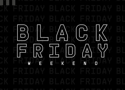 Black Friday: 30 per cent off kit