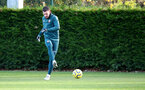 SOUTHAMPTON, ENGLAND - NOVEMBER 28: Pierre-Emile Hojbjerg during a Southampton FC training session at the Staplewood Campus on November 28, 2019 in Southampton, England. (Photo by Matt Watson/Southampton FC via Getty Images)