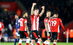SOUTHAMPTON, ENGLAND - NOVEMBER 30: James Ward-Prowse goal celebration during the Premier League match between Southampton FC and Watford FC at St Mary's Stadium on November 30, 2019 in Southampton, United Kingdom. (Photo by Isabelle Field/Southampton FC via Getty Images)