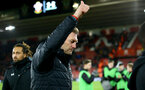 SOUTHAMPTON, ENGLAND - NOVEMBER 30: Ralph Hasenhuttl during the Premier League match between Southampton FC and Watford FC at St Mary's Stadium on November 30, 2019 in Southampton, United Kingdom. (Photo by Isabelle Field/Southampton FC via Getty Images)