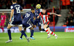 SOUTHAMPTON, ENGLAND - NOVEMBER 30: Pierre-Emile Hojbjerg of Southampton during the Premier League match between Southampton FC and Watford FC at St Mary's Stadium on November 30, 2019 in Southampton, United Kingdom. (Photo by Matt Watson/Southampton FC via Getty Images)