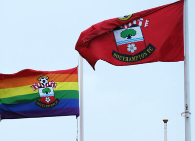 Saints back Rainbow Laces campaign
