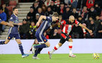 SOUTHAMPTON, ENGLAND - NOVEMBER 30: Nathan Redmond during the Premier League match between Southampton FC and Watford FC at St Mary's Stadium on November 30, 2019 in Southampton, United Kingdom. (Photo by Chris Moorhouse/Southampton FC via Getty Images)