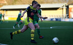 YEOVIL, ENGLAND - DECEMBER 01: Ella Pusey during the FA Cup, second round, at The Avenue between Yeovil and Southampton Women on December 01 2019, Yeovil, England. (Photo by Isabelle Field/Southampton FC via Getty Images)
