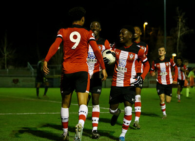U23 Gallery: Saints 2-0 Man City