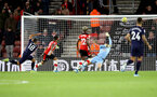 SOUTHAMPTON, ENGLAND - DECEMBER 14: Alex McCarthy of Southampton saves during the Premier League match between Southampton FC and West Ham United at St Mary's Stadium on December 14, 2019 in Southampton, United Kingdom. (Photo by Matt Watson/Southampton FC via Getty Images)