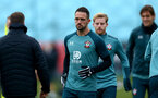SOUTHAMPTON, ENGLAND - DECEMBER 17: Danny Ings during a Southampton FC training session at the Staplewood Campus on December 17, 2019 in Southampton, England. (Photo by Isabelle Field/Southampton FC via Getty Images)