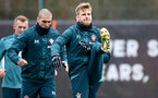 SOUTHAMPTON, ENGLAND - DECEMBER 17: Stuart Armstrong during a Southampton FC training session at the Staplewood Campus on December 17, 2019 in Southampton, England. (Photo by Isabelle Field/Southampton FC via Getty Images)