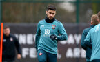 SOUTHAMPTON, ENGLAND - DECEMBER 17: Shane Long during a Southampton FC training session at the Staplewood Campus on December 17, 2019 in Southampton, England. (Photo by Isabelle Field/Southampton FC via Getty Images)