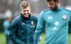 SOUTHAMPTON, ENGLAND - DECEMBER 19: Stuart Armstrong during a Southampton FC training session at the Staplewood Campus on December 19, 2019 in Southampton, England. (Photo by Matt Watson/Southampton FC via Getty Images)