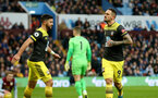 BIRMINGHAM, ENGLAND - DECEMBER 21: Danny Ings(R) celebrates with Shane Long both of Southampton, after scoring during the Premier League match between Aston Villa and Southampton FC at Villa Park on December 21, 2019 in Birmingham, United Kingdom. (Photo by Matt Watson/Southampton FC via Getty Images)