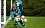 SOUTHAMPTON, ENGLAND - DECEMBER 25: Alex McCarthy during a Christmas day training session at the Staplewood Campus on December 25, 2019 in Southampton, England. (Photo by Matt Watson/Southampton FC via Getty Images)