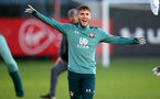 SOUTHAMPTON, ENGLAND - DECEMBER 25: Jake Vokins during a Christmas day training session at the Staplewood Campus on December 25, 2019 in Southampton, England. (Photo by Matt Watson/Southampton FC via Getty Images)