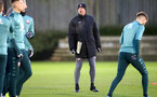 SOUTHAMPTON, ENGLAND - DECEMBER 25: Ralph Hasenhuttl during a Christmas day training session at the Staplewood Campus on December 25, 2019 in Southampton, England. (Photo by Matt Watson/Southampton FC via Getty Images)